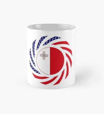 Maltese American Multinational Patriot Flag Series Mug