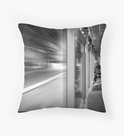 Bus 58 Throw Pillow