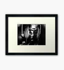 From out of the Dark Framed Print