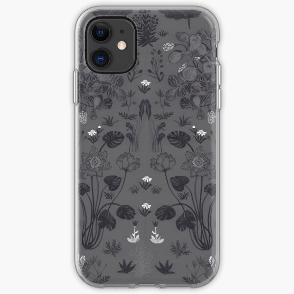 Night garden iPhone Soft Case