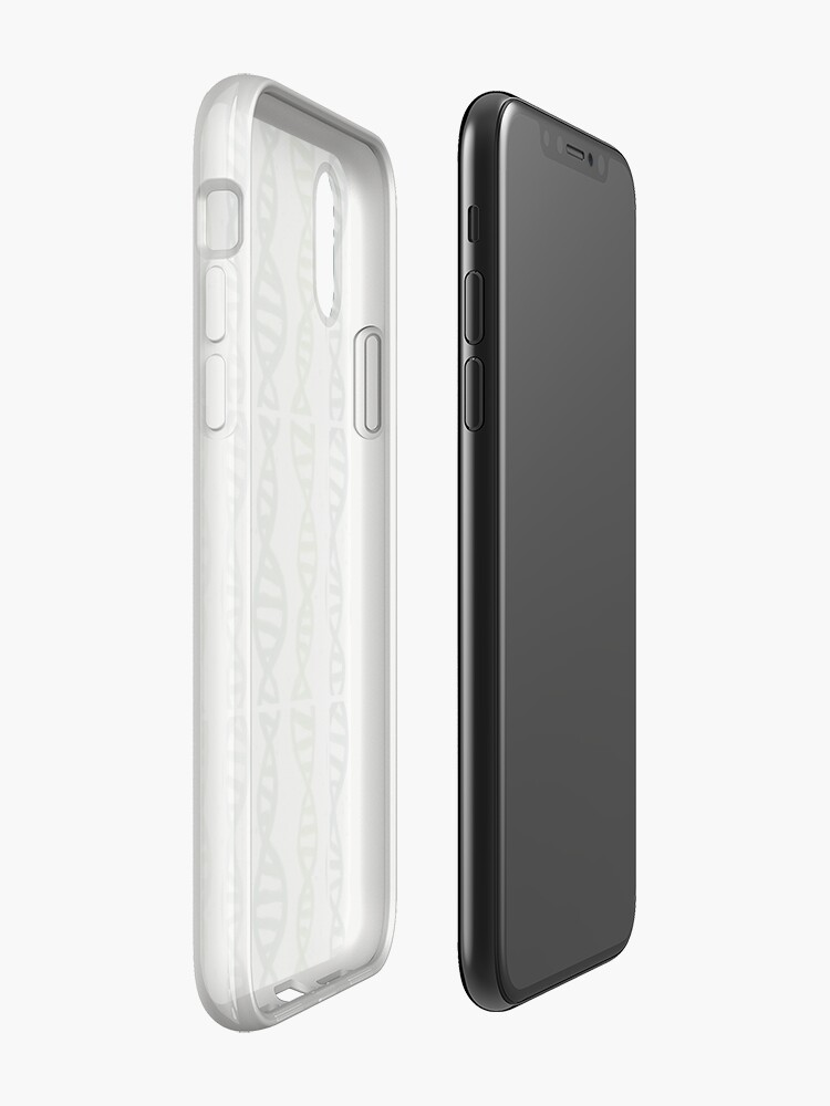 Alternate view of DNA in Acrylic Greens iPhone Case & Cover