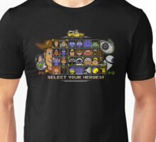 Pixel Animation Fighter Unisex T-Shirt