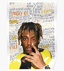 Póster Juice WRLD Rapper / Hip Hop