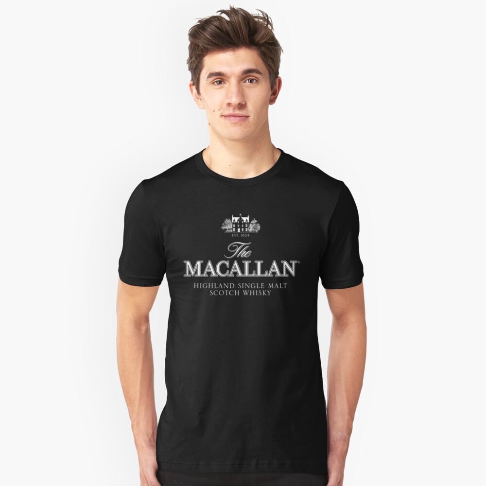 Der Macallan Luxus Slim Fit T-Shirt