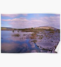 Burren County Clare Ireland Poster