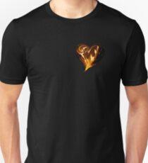 A Blazing Heart Unisex T-Shirt