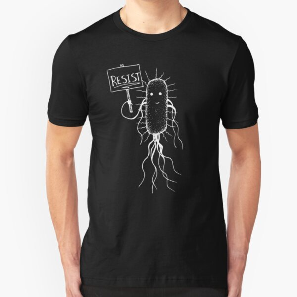 Microbial Resistance T-shirt Slim Fit T-Shirt