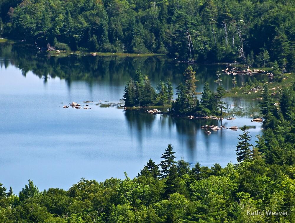 Jordan Pond - Acadia National Park, Maine by Kathy Weaver