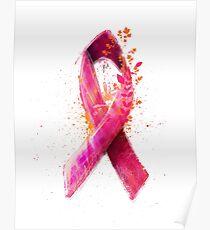 Pink Ribbon Poster