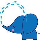 Blue Elephant by Sheree  Boyd