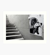 Paris - The wild stairs. Art Print
