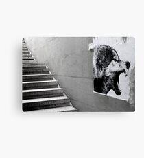 Paris - The wild stairs. Canvas Print