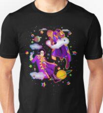 Lisa Frank Babylon 5 Londo Mollari and G'Kar  Unisex T-Shirt