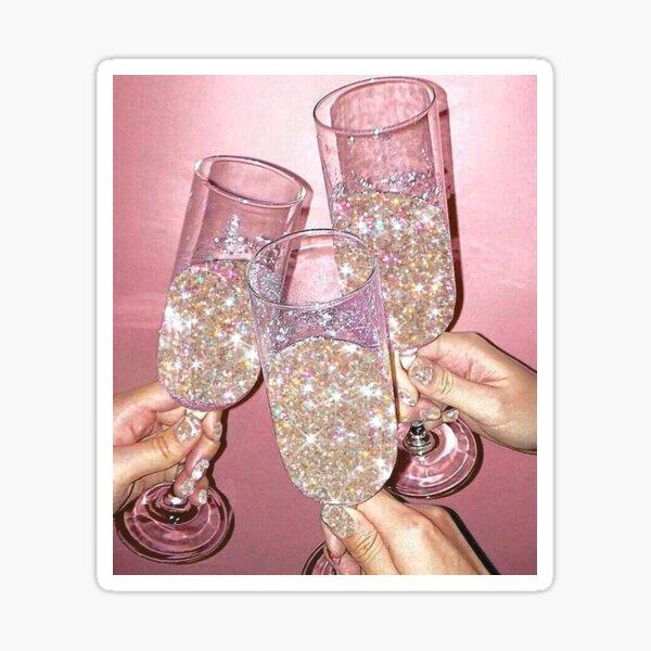 Sparkly Champagne Sticker