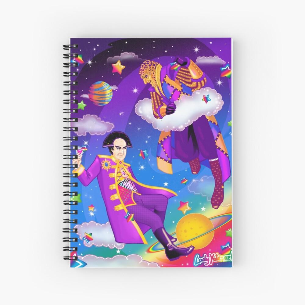 Lisa Frank Babylon 5 Londo Mollari and G'Kar  Spiral Notebook