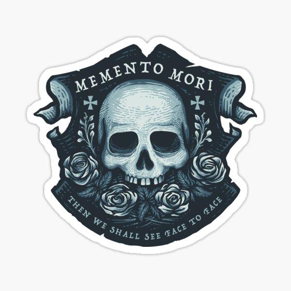 Gedenke des Todes Sticker