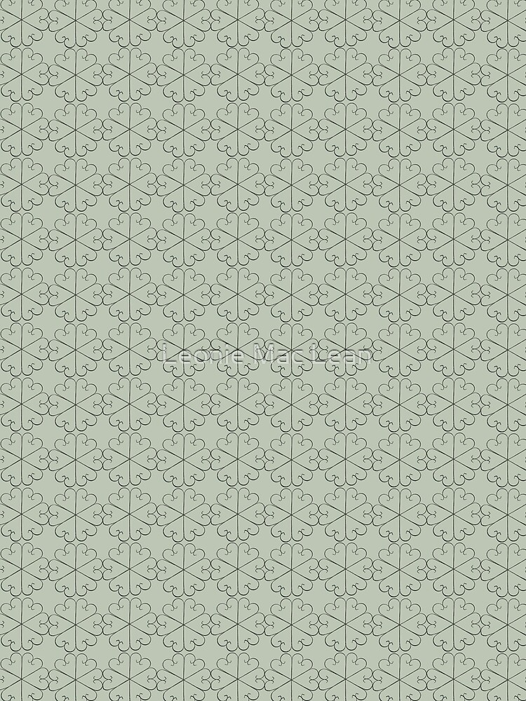 Metal Flowers small design for orchid fabric by yallmia