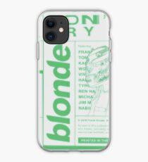 Frank Ocean Blonde iPhone Case
