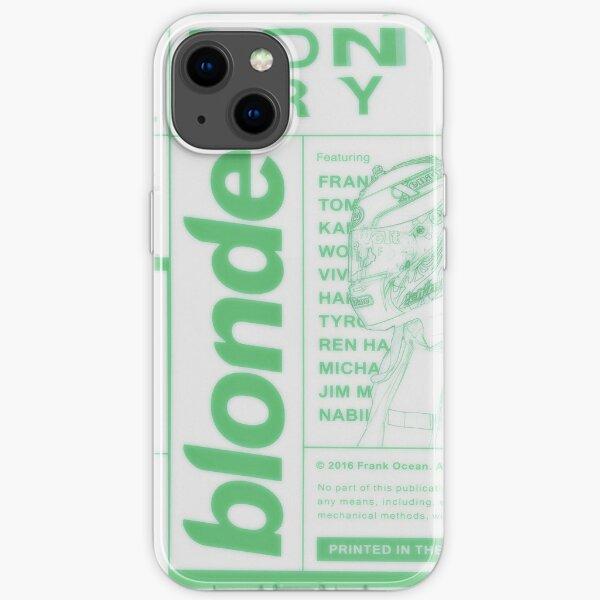 Frank Ocean Blonde iPhone Soft Case