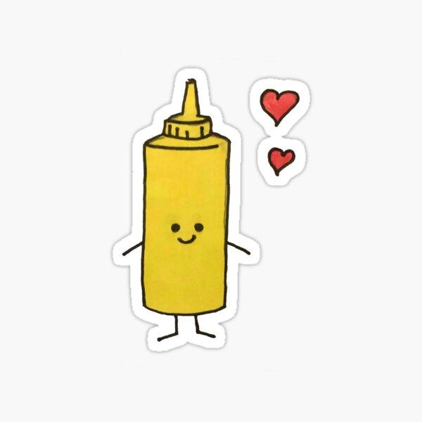 Mustard  Sticker