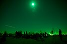 Green Full Moon by Philip Werner