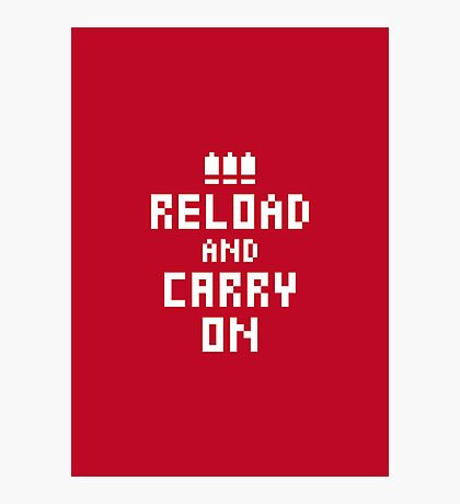 Keep Calm and Carry on Gaming4 Photographic Print
