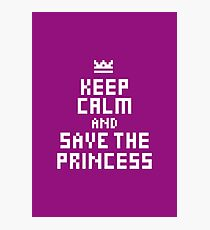 Keep Calm and Carry on Gaming5 Photographic Print