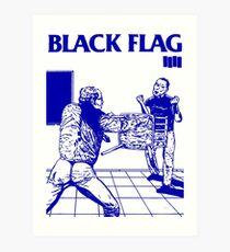 Black Flag - Nervous Breakdown Art Print