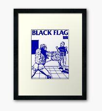 Black Flag - Nervous Breakdown Framed Print
