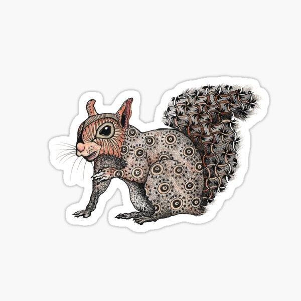 Squirrel Totem Sticker