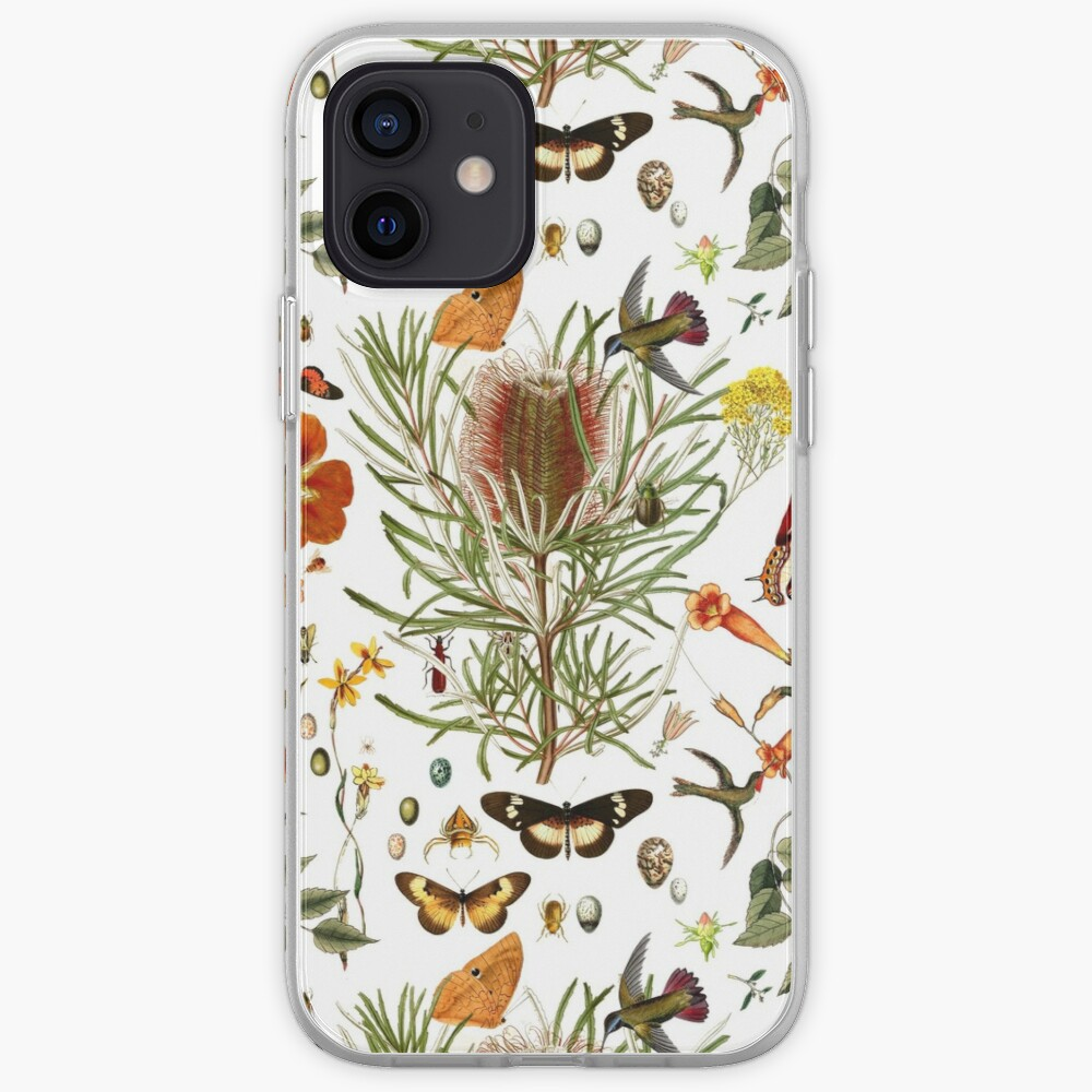 Banksia,Butterflies and bees iPhone Case & Cover