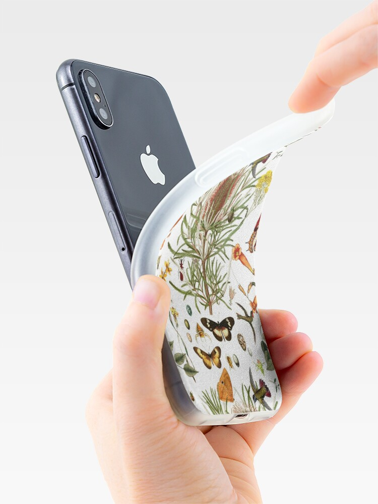 Alternate view of Banksia,Butterflies and bees iPhone Case & Cover