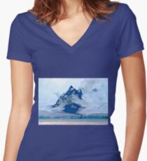 Antarctica Women's Fitted V-Neck T-Shirt
