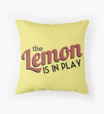 [CP] - The Travelling Lemon Throw Pillow