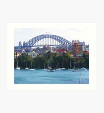 Sydney Harbour Bridge Australia  Art Print