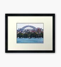 Sydney Harbour Bridge Australia  Framed Print