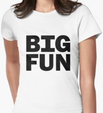 Big Fun - Heathers Women's Fitted T-Shirt