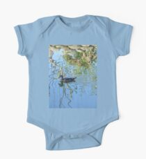 Tranquility at the Lagoon One Piece - Short Sleeve