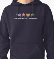 Classically Trained - 80s Video Games Pullover Hoodie