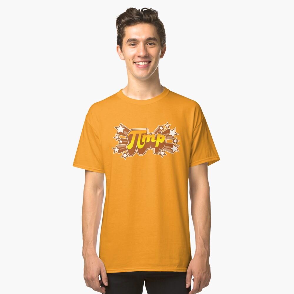 Pi mp - Pi+MP = Pimp Classic T-Shirt Front