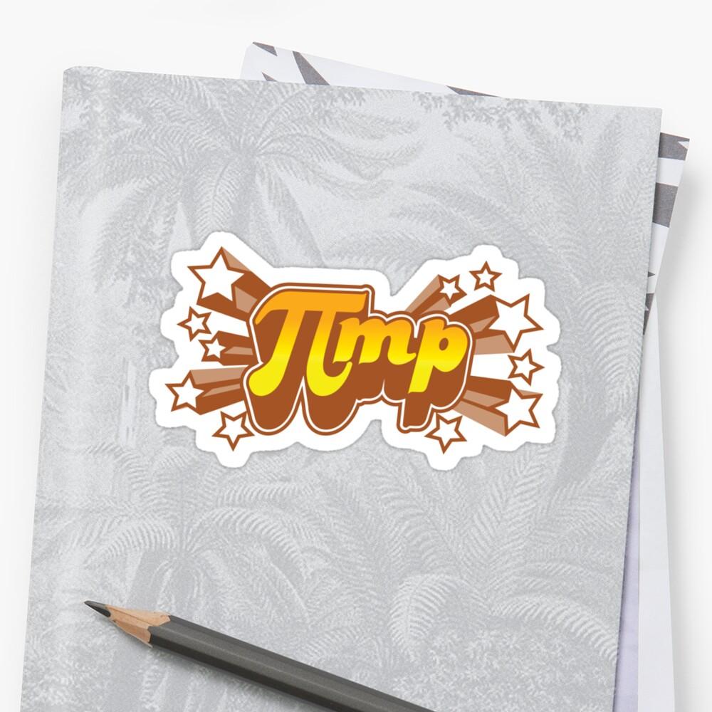 Pi mp - Pi+MP = Pimp by DetourShirts