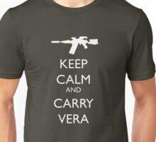 Keep Calm and Carry Vera Unisex T-Shirt