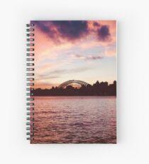 Kate Branch Creative - Sydney Sunset Spiral Notebook