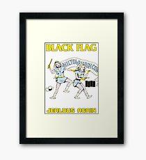 Black Flag - Jealous Again Framed Print