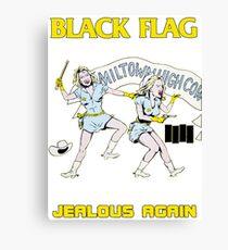 Black Flag - Jealous Again Canvas Print