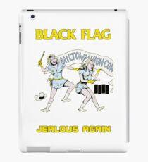 Black Flag - Jealous Again iPad Case/Skin