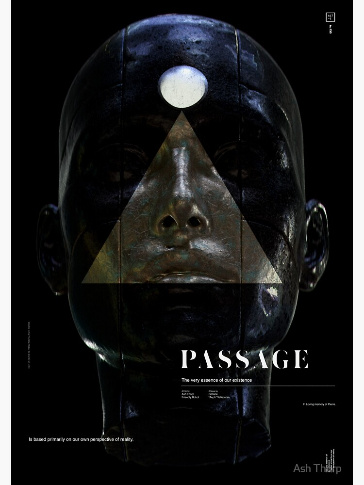 PASSAGE - The Queen (invert) by ashthorp