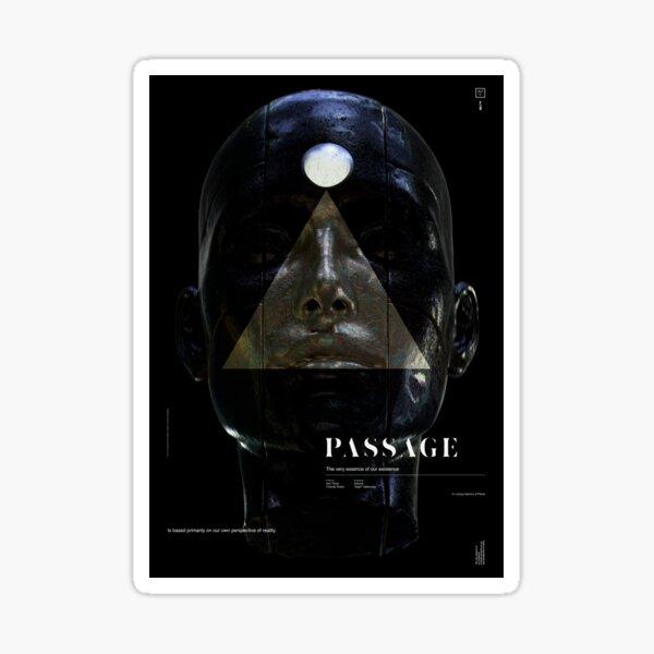 PASSAGE - The Queen (invert) Sticker