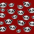 Cute Pandas everywhere by squarecloud