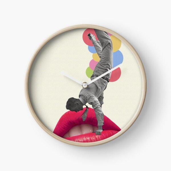 I Wanna Kiss You Clock